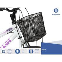 Bicicleta Caloi Aro 26  Ventura T18R26V21 A18 Branco -