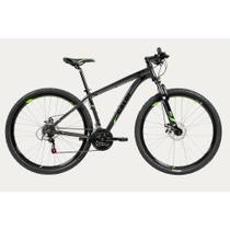 Bicicleta Caloi Aro 29 21 Marchas Quadro de Alumínio Cinza -