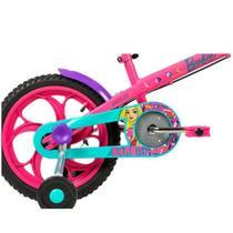 Bicicleta Caloi Barbie Rosa Aro 16 -