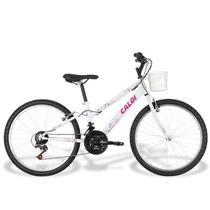 Bicicleta Caloi Ceci 2017, 21 Marchas, Aro 24, Cestinha -