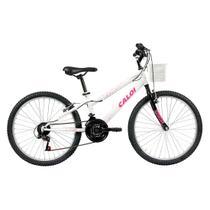 Bicicleta Caloi Ceci A17 24 Branca -
