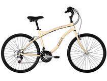 Bicicleta Caloi City 21 Marchas Aro 26 - Quadro em Alumínio Freios V-Brake Câmbio Shimano
