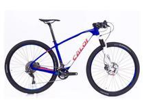 Bicicleta Caloi Elite Carbon Team Xtr 2018 com Brinde Nf -