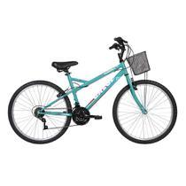 Bicicleta Caloi Florença Aro 26 Freio V-Brake + Capacete -