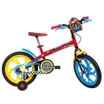 Bicicleta Caloi Hot Wheels Aro 16 450068.19008 -