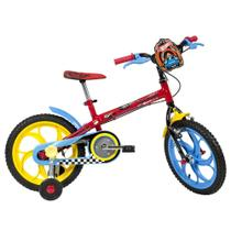 Bicicleta Caloi Hot Wheels Aro 20 Vermelha