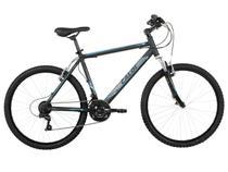 Bicicleta Caloi HTX Sport Preto e Azul Masculino - Aro 26 21 Marchas Quadro de Alumínio
