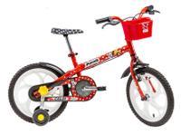 Bicicleta Caloi Infantil Minnie 16 Vermelha 2017 -