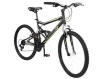 Bicicleta Caloi Mountain Bike SK Sport Aro 26 - 21 Marchas Full Suspension Câmbio Shimano