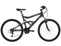 Bicicleta Caloi SK Sport Aro 26 21 Marchas - Quadro Alumínio Full Suspension Freios V-brake