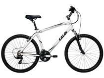 Bicicleta Caloi Sport Comfort Aro 26 21 Marchas - Suspensão Dianteira Cãmbio Shimano Freio V-brake