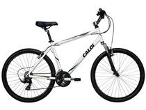 Bicicleta Caloi Sport Confort Aro 26 21 Marchas - Susp. Diant. Câmbio Shimano Quadro Alumínio