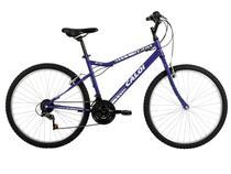 Bicicleta Caloi Terra Azul Mountain Bike Aro 26  - 21 Marchas Freio V-brake
