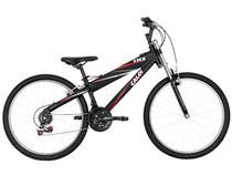 Bicicleta Caloi TRS Aro 26 21 Marchas  - c/ Susp. Dianteira Quadro Alumínio Freio V-Brake