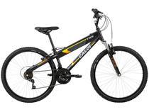 Bicicleta Caloi TRS Aro 26 21 Marchas - Suspensão Dianteira Quadro Alumínio Freio V-Brake