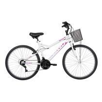 Bicicleta Caloi Ventura, Aro 26, 21 marchas, Branca -