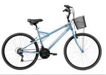 Bicicleta Caloi Ventura Aro 26 Azul com Cesta -