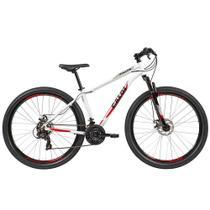 Bicicleta Caloi Vulcan Branca  21V Alumínio Aro 29 -