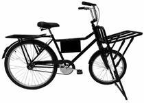 Bicicleta Cargueira De Carga Pesada Bagageira Food Bike - Casa Do Ciclista