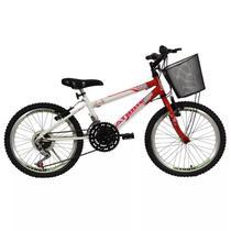 Bicicleta charmy aro 20 mtb com marchas cestão athor - cd -