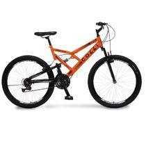 Bicicleta Colli 148-12D Aro 26 - Laranja Neon -