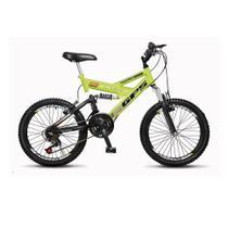 Bicicleta Colli 310 Aro 20 36 Raias Fulls GPS Dupla Suspensão 21 Marchas - Colli bike