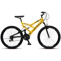 Bicicleta Colli Aro 26 Dupla Suspensão 21 Marchas GPS 148 - Colli Bike