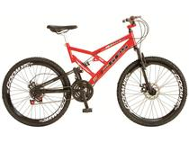 Bicicleta Colli Bike Adulto Masculino 220/16  - Aro 26 21 Marchas Quadro de Aço Freio A Disco