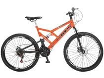 Bicicleta Colli Bike GPS Aro 26 21 Marchas  - Dupla Suspensão Freio a Disco