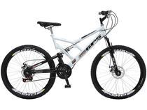 Bicicleta Colli Bike GPS Aro 26 21 Marchas - Dupla Suspensão Quadro de Aço Freio à Disco