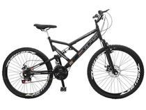 Bicicleta Colli Bike GPS Pro Aro 26 21 Marchas - Dupla Suspensão Freio à Disco