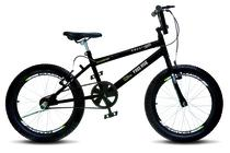 Bicicleta Colli Bmx Cross Extreme Aro 20 Aero 36 Raios Masc Preto Fosco 110 (11) - Ds decor