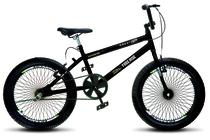 Bicicleta Colli Bmx Cross Extreme Aro 20 Aero 72 Raios Masc Preto Fosco 182 (11) - Ds decor