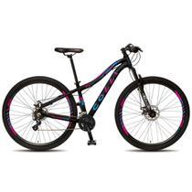 Bicicleta Colli Eudora Aro 29 em Alumínio Freio a disco e Câmbio Shimano - Preto -