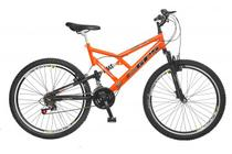 Bicicleta Colli Full Suspension Aro 26 Freio V-Break 21 Velocidades