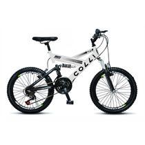 Bicicleta Colli Fulls GPS Aro 20 Dupla Suspensão 21 Marchas - 310.05D -