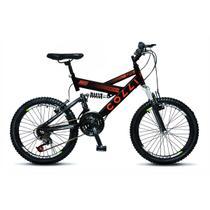 Bicicleta Colli Fulls GPS Aro 20 Dupla Suspensão 21 Marchas - 310.11D -