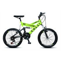Bicicleta Colli Fulls GPS Aro 20 Dupla Suspensão 21 Marchas - 310.13D -