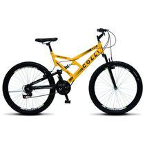 Bicicleta Colli Fulls GPS Aro 26 Dupla Susp. 36 Raios 21 Marchas - 148.01D -
