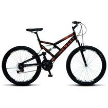 Bicicleta Colli Fulls GPS Aro 26 Dupla Susp. 36 Raios 21 Marchas - 148.11D -