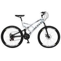 Bicicleta Colli Fulls GPS Freios a Disco Aro 26 Dupla Susp. 36 Raios 21 Marchas - 220.05D -