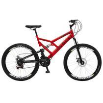 Bicicleta Colli Fulls GPS Freios a Disco Aro 26 Dupla Susp. 36 Raios 21 Marchas - 220.16D -