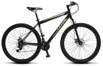 Bicicleta Colli MTB Force One Preto  Kit Shimano 21 Marchas Aro 29 Aero Freios a Disco