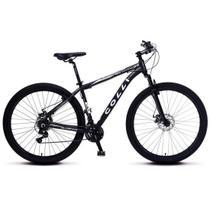 Bicicleta Colli MTB High Performance Aro 29 Alum. Kit Shimano 21M Susp. Dianteira Freio - Preto -