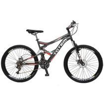 Bicicleta Colli Totem Aro 26 Kit Shimano 21 Marchas Dupla Suspensão Freios a Disco - Colli Bike