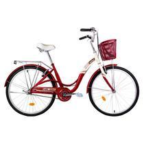 Bicicleta com cestinha mobele mimi aro 26 -