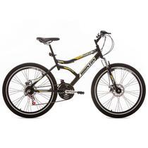 Bicicleta com Quadro em Aço Carbono Discovery 26-Houston -