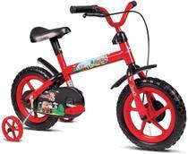 Bicicleta com rodinhas Infantil Aro 12 Verden Jack Vermelho/preto - Verden Bikes