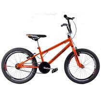 Bicicleta Cross BMX Aro 20 Ultra V Break Laranja Cromada - Giant