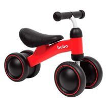Bicicleta de Equilíbrio Andador Infantil Buba 4 Rodas Sem Pedal -